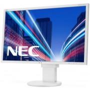 "Monitor TN LED NEC MultiSync 22"" EA223WM, DVI, VGA, DisplayPort, USB, 5 ms, Boxe, Pivot (Alb)"