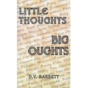 Little Thoughts, Big Thoughts by D. V. Barrett
