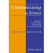 Communicating in Science by Vernon Booth