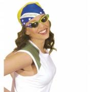 Brziliaanse vlag bril