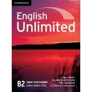 English Unlimited Upper Intermediate Class Audio CDs (3) by Alex Tilbury