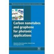 Carbon Nanotubes and Graphene for Photonic Applications by Shinji Yamashita