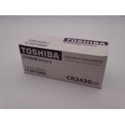 Baterie litiu TOSHIBA 3V CR2430 / DL2430 Blister 5