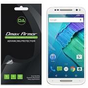 [6-Pack] Dmax Armor Motorola Moto X Pure Edition / Moto X Style Anti-Glare & Anti-Fingerprint (Matte) Screen Protector - Lifetime Replacements Warranty -Retail Packaging
