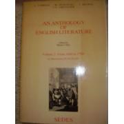 An Anthology Of English Literature V