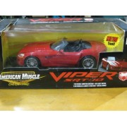 1/18 Scale Ertl American Muscle Dodge Viper Srt 10 Red