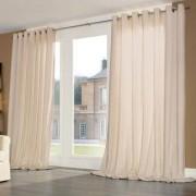 """Vorhang """"Silent"""", je 1 Vorhang, 290 x 280 cm - Beige"""