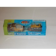 Eco Expedition Truck - & Trailer - African Explorer - Toy - Wild Republic