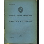 The National Physical Laboratory - Report For The Year 1928