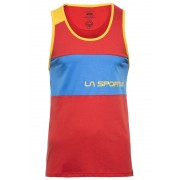 La Sportiva Astroman Koszulka bez rękawów Mężczyźni czerwony L Bluzki wspinaczkowe bez rękawów