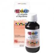 Pédiakid 22 Vitamines oligo éléments sirop 125ml