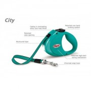 Flexi CITY pásek 2 m, do 35 kg tyrkysová