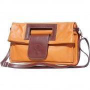 Florence Leather Market Borsa a mano con tracolla regolabile e manici incorporati (9000)
