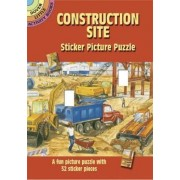 Construction Site Sticker Picture Puzzle by Steven James Petruccio