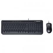 Kit tastatura + mouse wireless MICROSOFT Desktop 600, negru