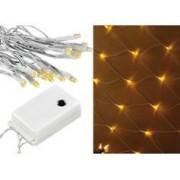 Lunartec Toile lumineuse à LED ''White Galaxy''