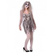Disfarce noiva fantasma Halloween