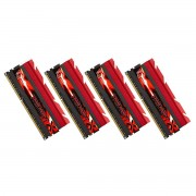 Mémoire LONG DIMM DDR3 G.Skill DIMM 32 GB DDR3-1866 Quad-Kit F3-1866C8Q-32GTX, TridentX 32 GB CL8 09/09/24 4 barettes