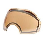 Oakley Airbrake Replacement Lens Screen Ski Masks, Mens, Airbrake, Black Iridium, One Size