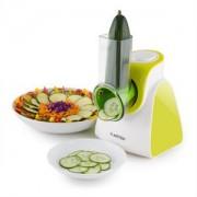 Klarstein Carrot & Rock, 150W, zöld, elektromos zöldségszeletelő, 5 kiegészítő (TK35-Carrot&Rock-G)