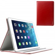 Capa de Couro Doormoon Smart para iPad Air - Vermelho