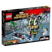 LEGO Super Heroes- Marvel - 76059 - Spider-man - Le Piège À Tentacules De Doc Ock