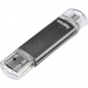 "Hama USB 2.0 OTG Speicherstick FlashPen ""Laeta Twin"", 64 GB"