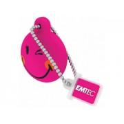 Emtec SW107 8GB smiley pink pen drive
