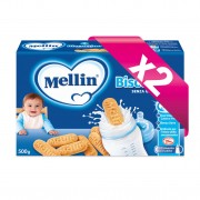 Mellin Biscotto - Kit risparmio 2x Biscottino Senza Glutine - KIT_2X_Confezione 500 g ℮ (2 buste da 250 g)