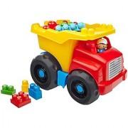 Mega Bloks CXN67 First Builders Dump Truck Set Building Kit