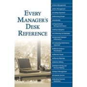 Every Managers Desk Reference by Alpha Books
