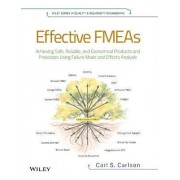 Effective FMEAs by Carl Carlson