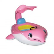 Poolmaster 81559 Dolphin Baby Seat with Top - Learn-to-Swim by Poolmaster