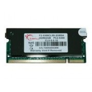 G.Skill DDR2 Series F2-5300CL5S-2GBSA - DDR2 - 2 Go - SO DIMM 200 broches - 667 MHz / PC2-5300 - CL5 - 1.8 V - mémoire sans tampon - non ECC