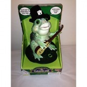 THE GAMBLER SING AND DANCE FROG SINGS' KNOW WHEN TO FOLD THEM.