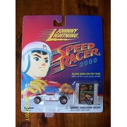 "Johnny Lightning Speed Racer 2000 Target Exclusive ""Mach 5 Indy Race Car"" with Bonus Film Strip Toke"