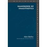 Handbook of Inaesthetics by Alain Badiou