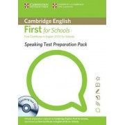 Speaking Test Preparation Pack for First for Schools Paperback with DVD by Cambridge ESOL