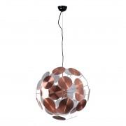 energie A++, Hanglamp PLENTY WORK - koper 6 lichtbronnen, Zuiver