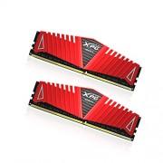 Adata XPG Z1 Kit di 2 Memorie da 4GB, 8 GB Totale, DDR4, 2400Mhz, Rosso/Nero