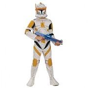 Star Wars Clone Wars Clone Trooper Childs Commander Cody Costume Medium