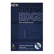 New Cutting Edge Pre-Intermediate Teacher's Resource Book with Test Master CD-Rom Pack