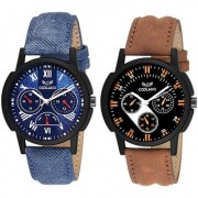 Coolado CL-0302 Combo Of 02 Watches