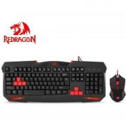 Kit tastatura si mouse Redragon S101-BK Gaming Vajra plus Centrophorus