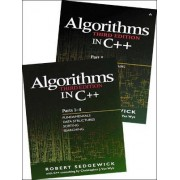 Algorithms in C++: Fundamentals, Data Structures, Sorting, Searching and Graph Algorithms Pts. 1-5 by Robert Sedgewick