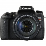 """Canon EOS Digital Camera Kit - 24.2 Megapixel CMOS, Built-in Wi-Fi, EOS Full HD Movie, Hybrid CMOS AF III, 3.0"""" ClearView II LCD Touchscreen - 0020C003"""
