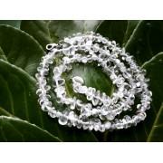 Hegyikristály lánc gömbölyített 50cm *