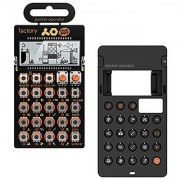 Teenage Engineering: PO-16 Factory Pocket Operator + Silicone Case Bundle