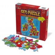Legpuzzel Geopuzzle UK and Ireland - Groot-Brittannië en Ierland | Geotoys