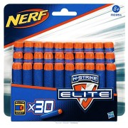 NERF N-Strike Elite Clip System Darts 30-Pack